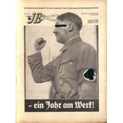 4463 ILLUSTRIERTER BEOBACHTER  Special Issue1934-Jahrestag der Machtergreifung - Ein Jahr am Werk