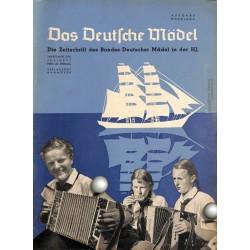 4573 DAS DEUTSCHE MÄDEL No. 7-1938 JuliAusgabe Hochland BDM magazine The German Maiden/ Das Deutsche Mädel