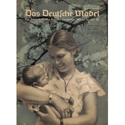 4577 DAS DEUTSCHE MÄDEL No. 5-1939 MaiAusgabe Ruhr-Niederrhein BDM magazine The German Maiden/ Das Deutsche Mädel