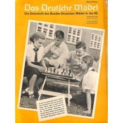 4582 DAS DEUTSCHE MÄDEL No. 6-1940 Juni BDM magazine The German Maiden/ Das Deutsche Mädel
