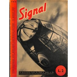 5303	 INCOMPLETE SIGNAL	-No.	D/I	10-1940	 SIGNAL German/Italian issue - illustrated german magazine