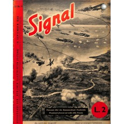 5304	 SIGNAL	-No.	D/I	11-1940	 SIGNAL German/Italian issue - illustrated german magazine