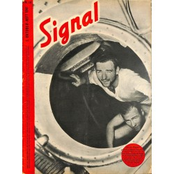 5327	 SIGNAL	-No.	D	19-1941	 SIGNAL German issue - illustrated german magazine	U-Boot submarine Helgoland Russia