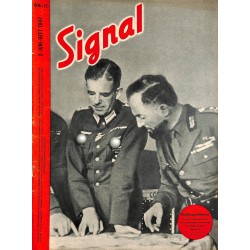 5341	 SIGNAL	-No.	D	12-1942	 SIGNAL German issue - illustrated german magazine	Russia Wehrmacht