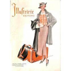 5484 ILLUSTRIRTE ZEITUNG No.4772  August 27 1936 content:34 pages, eine deutsche Schatzkammer der deutschen Kunst