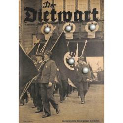 5751 DER DIETWART No.  9/ 4.yearAugust 10 1938 content:Der Dank des Reichssportführers, Das deutsche Hochfest