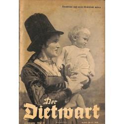 5758 DER DIETWART No.  16/ 4.yearNovember 20 1938 content:Ziele der deutschen Bevölkerungspolitik, Die Tänze des Bundes