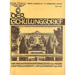 6422 DER SCHULUNGSBRIEF No. 1-1937-4th year, JanuaryWas steht vor uns? Ein Wort für 1937