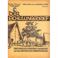 6568 DER SCHULUNGSBRIEF No. No. 4-1935-2nd year AprilZum 20.April 1935