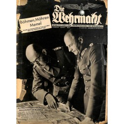 6889 INCOMPLETE No. 7-1939 - 29.März DIE WEHRMACHT
