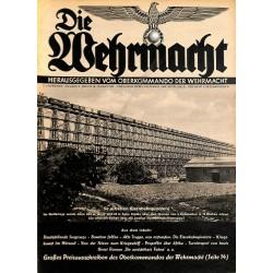 6908 No. 2-1939 - 18.Januar DIE WEHRMACHT