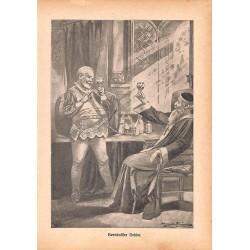 "0125 Bernkastler Doktor saga vintage german print 1904 size 6.3"" x 8.98"" / 16 cm x 22,8 cm - 100% authentic"