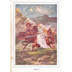 "0157 Rübezahl saga prince vintage german print 1904 size 6.3"" x 8.98"" / 16 cm x 22,8 cm - 100% authentic"