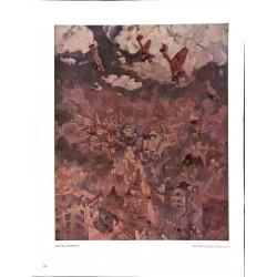 6018-WWII Stukas over England (Bomben über Engeland)by Georf Lebrechtcolor painting
