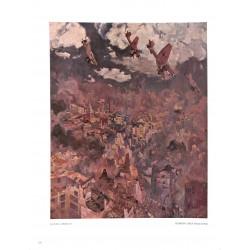 6021-WWII Stukas over England (Bomben über Engeland)by Georg Lebrechtcolor painting