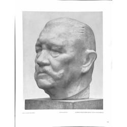 6028-WWII Reichspräsident Paul von Hindenburgby Bernhard Bleekerbust