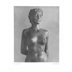 "6057-naked girl ""Eva""by Kurt Zimmermannsculpture"