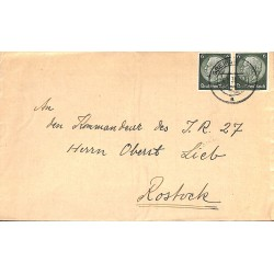 1258 Feldpost General Theobald Liebe - Knight Cross holder Iron Cross Oak Leaves	4.8.1939