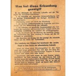 2784 WWII leaflet Russia -Was hat diese Erkundung gezeigt? Was lehrt die Landungsaktion von Dieppe?
