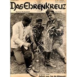 6606 No. 37-1936 DAS EHRENKREUZ - Illustrierte für Volk und Wehr -