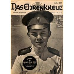 6615 No. 29-1936 DAS EHRENKREUZ - Illustrierte für Volk und Wehr -