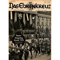 6619 No. 27-1936 DAS EHRENKREUZ - Illustrierte für Volk und Wehr -