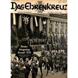 6620 No. 27-1936 DAS EHRENKREUZ - Illustrierte für Volk und Wehr -