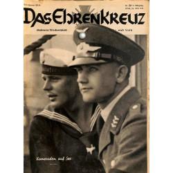 6622 No. 26-1936 DAS EHRENKREUZ - Illustrierte für Volk und Wehr -
