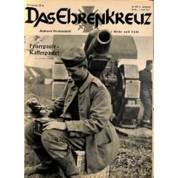 6624 No. 23-1936 DAS EHRENKREUZ - Illustrierte für Volk und Wehr -
