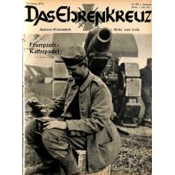 6625 No. 23-1936 DAS EHRENKREUZ - Illustrierte für Volk und Wehr -