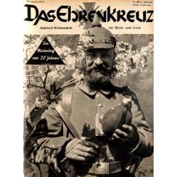 6630 No. 20-1936 DAS EHRENKREUZ - Illustrierte für Volk und Wehr -