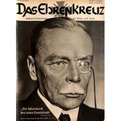 6631 No. 17-1936 DAS EHRENKREUZ - Illustrierte für Volk und Wehr -