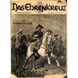6660 No. 34-1936 DAS EHRENKREUZ - Illustrierte für Volk und Wehr -