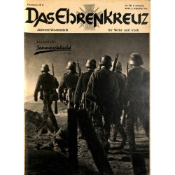 6662 No. 36-1936 DAS EHRENKREUZ - Illustrierte für Volk und Wehr -