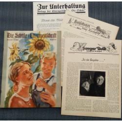 6668 No.  10-1936 Oktober DIE SCHULE / ELTERNZEITSCHRIFTplus 2 of 3 additions