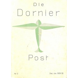 8502 DIE DORNIER-POST No.  2-1935/36 Dezember/Januar
