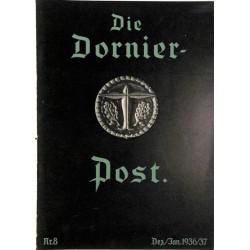 8508 DIE DORNIER-POST No.  8-1936/37 Dezember/Januar
