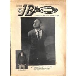 3354 ILLUSTRIERTER BEOBACHTER  Jews Kurt Eisner cartoons No. 18-1933-May 6