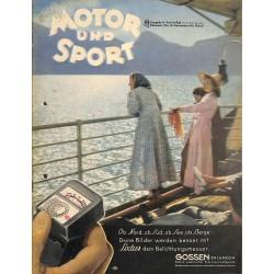 8496 MOTOR UND SPORT No. 35-1941 30.November Ausgabe A