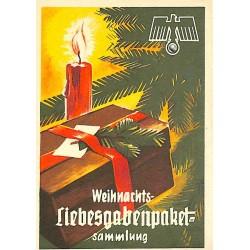 5243 WHW sticker Weihnachts-Liebesgabenpaket-SammlungWinterhilfswerk Third Reich collection