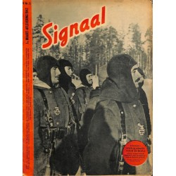 0951 Incomplete-No.	 H	5-1943	 SIGNAAL / SIGNAL Holland Dutch - illustrated german magazine	Russia winter, Junkers airplanes			c