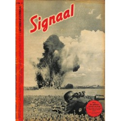 0952	 Incomplete-No.	 H	17-1942	 SIGNAAL / SIGNAL Holland Dutch - illustrated german magazine	soldiers, Wehrmacht,  Russia