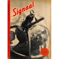 0954	-No.	 H	9-1942	 SIGNAAL / SIGNAL Holland Dutch - illustrated german magazine	Stallin, Eighty eight, tanks soldiers