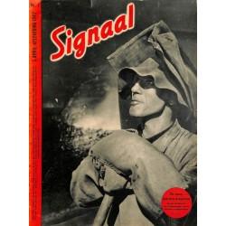 0957-No. H7-1942 SIGNAAL / SIGNAL Holland Dutch - illustrated german magazineU-Boot, submarine