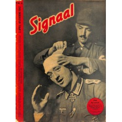 0959	 Incomplete-No.	 H	8-1942	 SIGNAAL / SIGNAL Holland Dutch - illustrated german magazine	Russia, soldiers, Wehrmacht