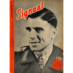 0960	-No.	 H	7-1943	 SIGNAAL / SIGNAL Holland Dutch - illustrated german magazine	tanks, soldiers, Wehrmacht
