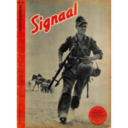 0967	-No.	 H	21-1942	 SIGNAAL / SIGNAL Holland Dutch - illustrated german magazine	Russia, soldiers, Wehrmacht