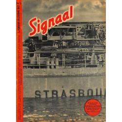 0970-No. H3-1943 SIGNAAL / SIGNAL Holland Dutch - illustrated german magazineU-Boot seamen soldiers Wehrmacht