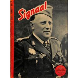 0982-No. H3-1944 SIGNAAL / SIGNAL Holland Dutch - illustrated german magazineCornelio Teodorini, Speer airplanes, ship