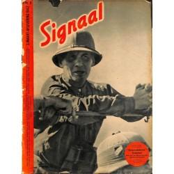 0991-No. H6-1942 SIGNAAL / SIGNAL Holland Dutch - illustrated german magazineRommel Desert Fox Wehrmacht Africa DAK